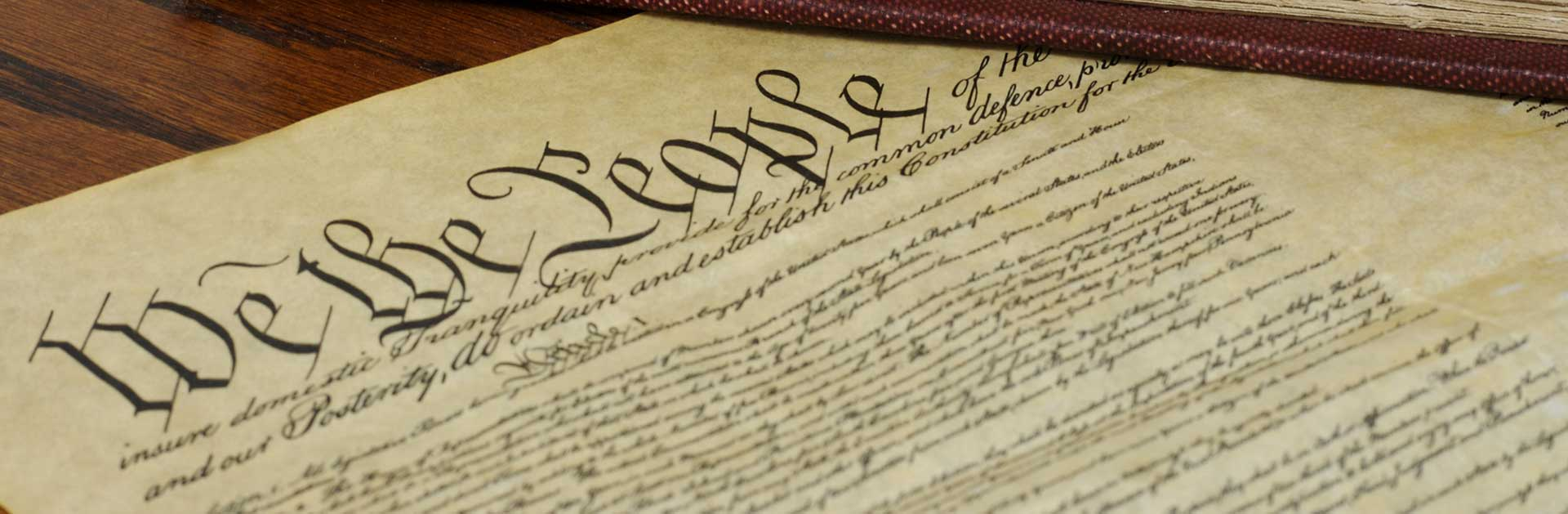 Image of US Constitution document
